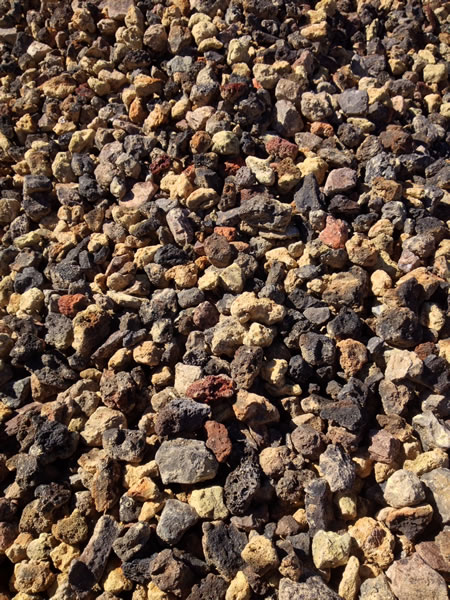 Rock and gravel nimbus landscape materials for Different color rocks for landscaping