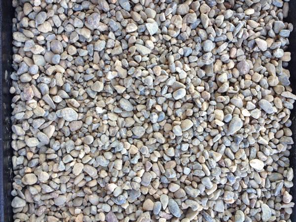 Pea gravel nimbus landscape materials for Smooth landscaping rocks